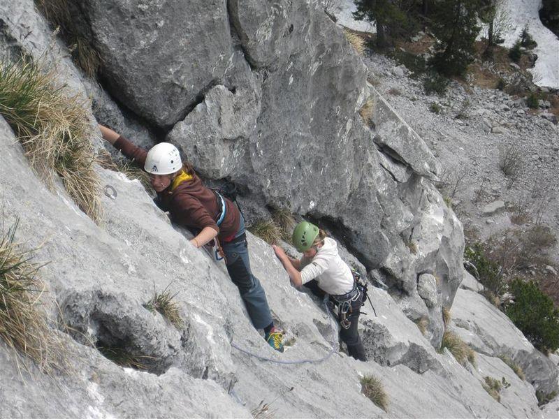 Klettersteig Netstal : Video heini holzer klettersteig