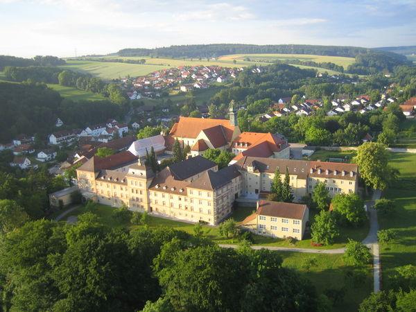 Kloster Niederviehbach von oben