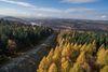 Keltischer Ringwall Otzenhausen aus der Luft