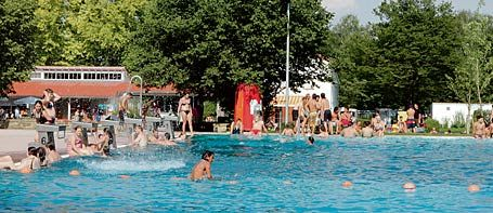 Freibad in Nürtingen