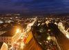Blick auf den Nürtinger Weihnachtsmarkt
