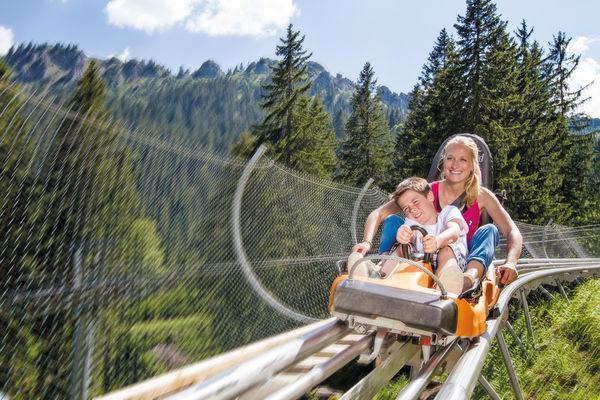 Fahrt mit dem Alpine Coaster Oberammergau