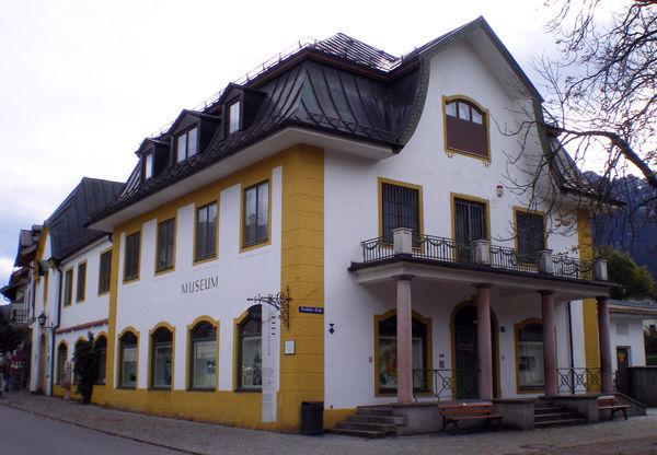 Aussenansicht Oberammergau Museum