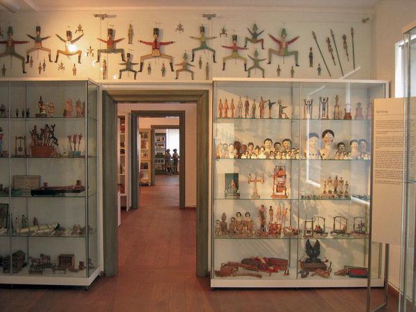 Innenraum Oberammergau Museum