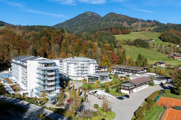Außenansicht Klinik Bad Trissl