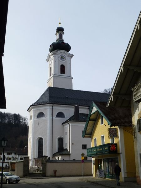 Pfarrkirche und Wallfahrtskirche Zu unserer Lieben Frau-©Tourist-Information Oberaudorf