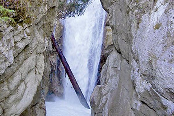 Wasserfall am Tatzlwurm bei Oberaudorf.