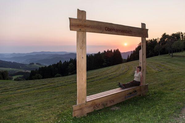 Aussichtsreiches Oberharmersbach - Pano[rahmen]