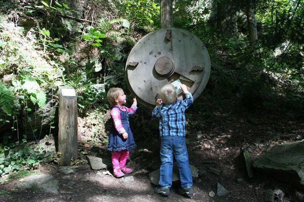 Vogelstimmen-Rad in Oberharmersbach - eine von 20 Stationen