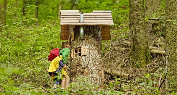 Hademars Wohnturm auf dem Naturerlebnispfad Oberharmersbach