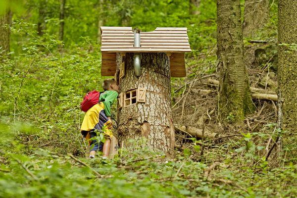 Familienurlaub: Naturerlebnispfad in Oberharmersbach