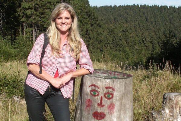 Wanderleiterin Anke Munsche