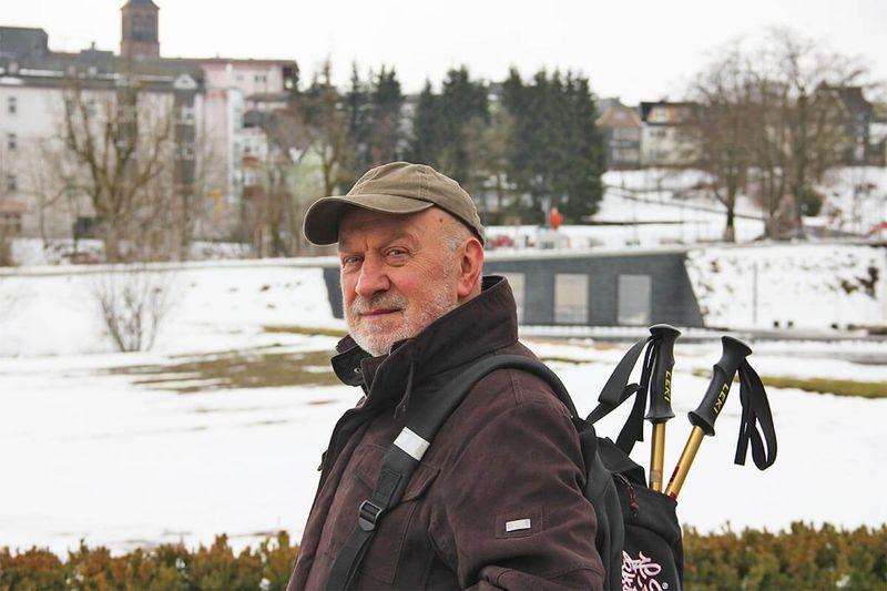 Wanderleiter Arwed Hinzberg