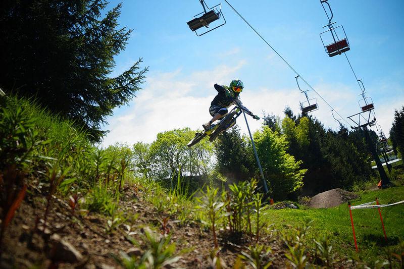 t-wood Trail im Bikepark Oberhof