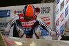 Rennrodler am Start der Rennschlitten- und Bobbahn Oberhof in Thüringen