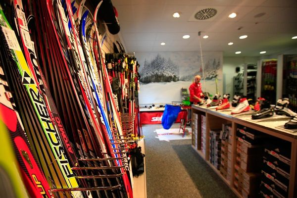 Sport Luck in der DKB-Skisport-HALLE