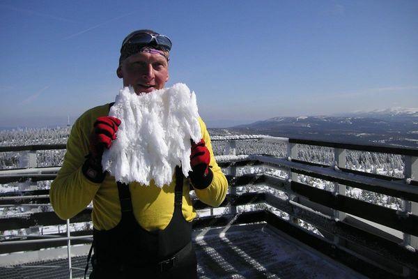 Wanderleiter Stefan Fölsch auf dem Ruppberg