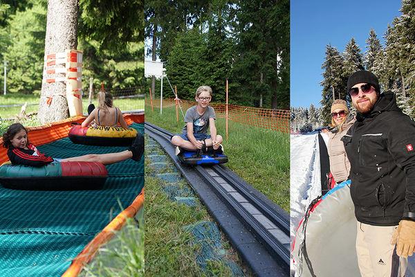 Vierjahreszeiten-Outdoorerlebnisse an der