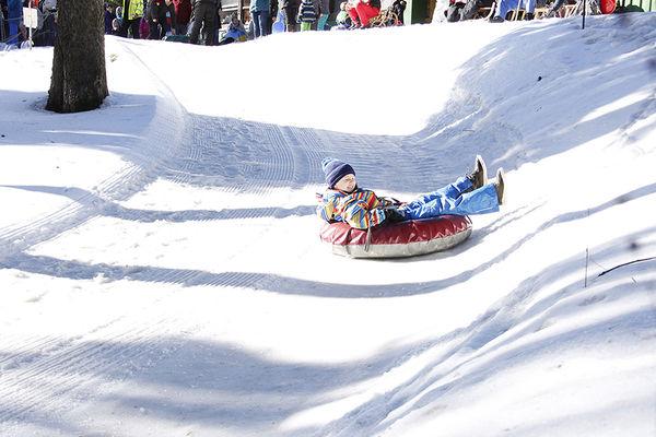 Snowtubing