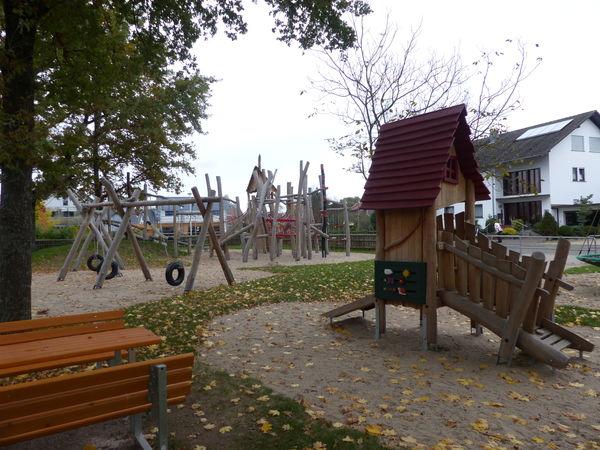 Spielplatz an der Hornisgrindestraße in Zusenhofen