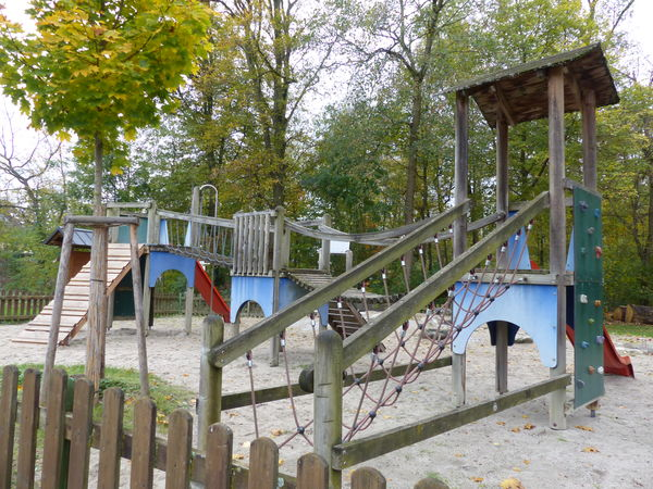 Spielplatz an der Binzigstraße in Zusenhofen