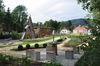 Herrliche Parkanlage im Schlossgarten Obernzell