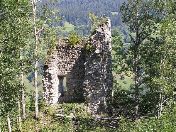 Burgruine Axenstein, Obersaxen