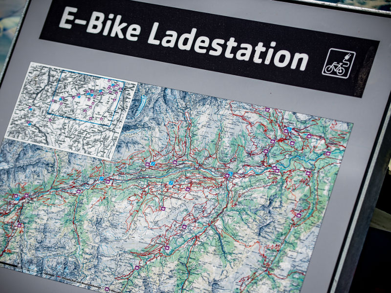E-Bike Ladestation Wali