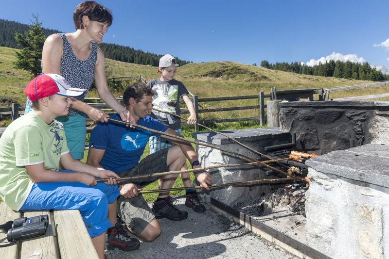 Feuerstelle Sassli, Obersaxen