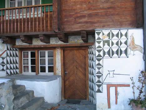 Haus Alois Carigiet, Obersaxen