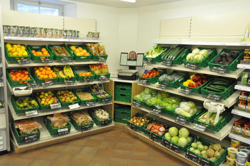 öffnungszeiten Lebensmittelladen