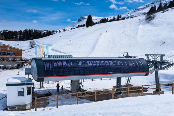 Sesselbahn Talstation Misanenga - Untermatt