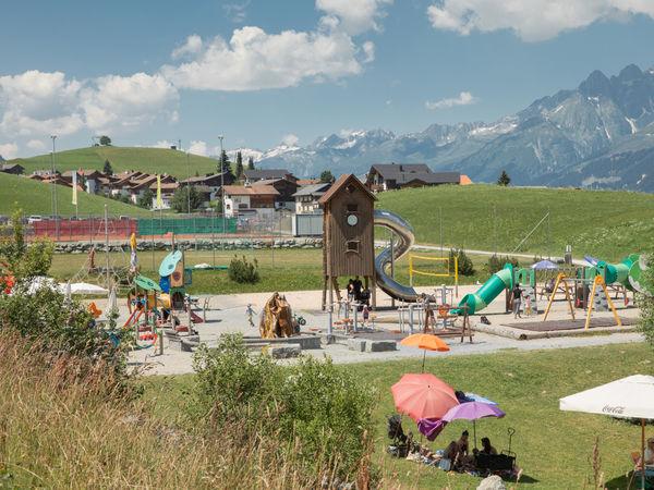 Spielplatz Rufalipark, Obersaxen
