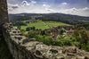 Blick von der Burgruine Haus Murach