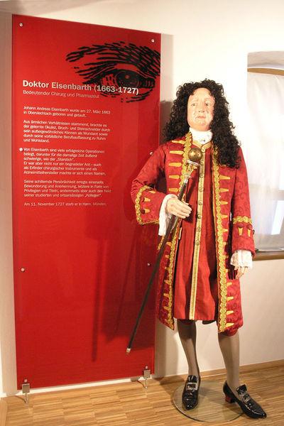 Dr. Eisenbarth im Doktor-Eisenbarth- und Stadtmuseum in Oberviechtach