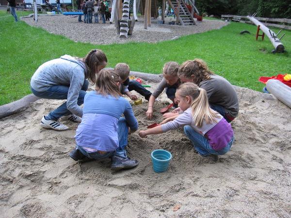 Ferienprogramm bei der Freizeitanlage Frohnbach