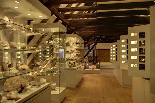 MiMa - Museum für Mineralien und Mathematik - Innenansicht