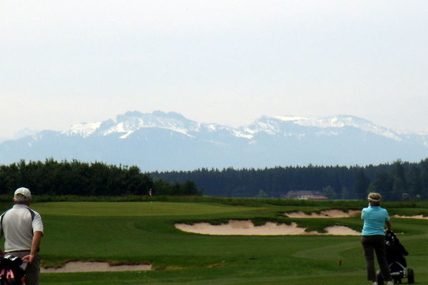Golfplatz in Obing.