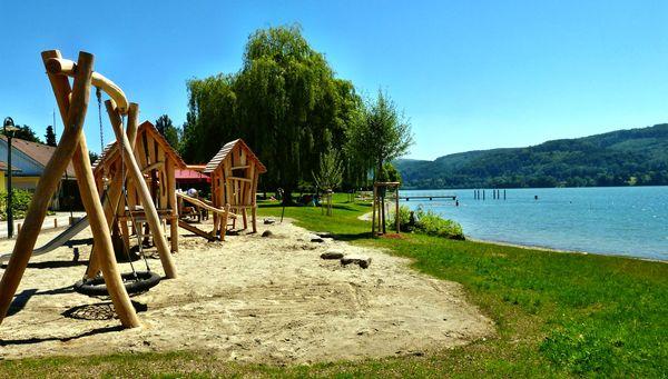 Spielplatz beim Strandbad Wangen