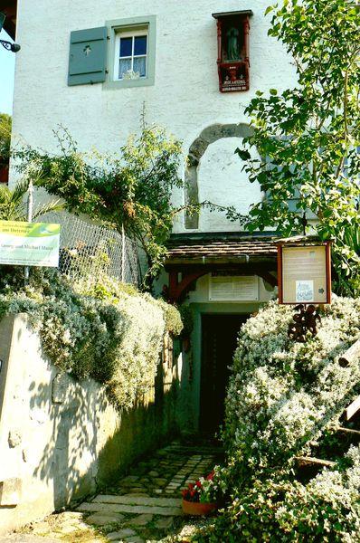 St. Michaelskapelle - Eingang