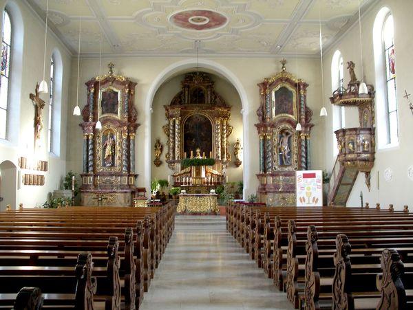Katholische Pfarrkirche St. Hippolyt und Verena