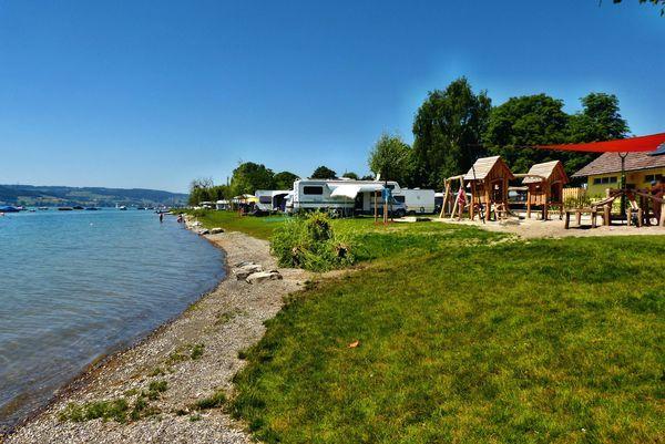 Campingplatz und Strandbad Wangen