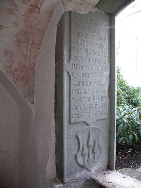 Eingang Totenbruderschaftskapelle