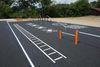 In Offenberg wurde an der bestehenden Sportanlage in Neuhausen (Unterriedstraße) ein Bewegungsparcours auf einer Fläche von ca. 250 m ² errichtet.