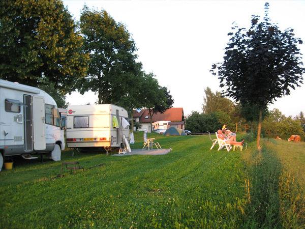 Campingurlaub auf dem Kapfelberg in der Gemeinde Offenberg