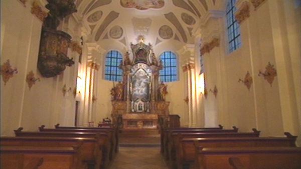 Die Kapelle auf Schloß Himmelberg im Deggendorfer Land