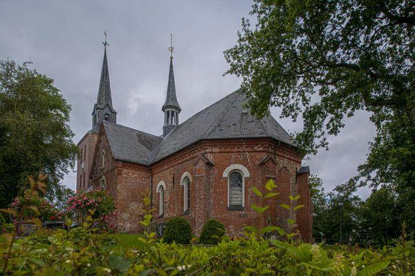 Kirche St. Pankratius in Oldenswort