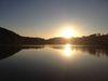 Sonnenuntergang am Listersee