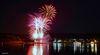 Feuerwerk am Biggesee