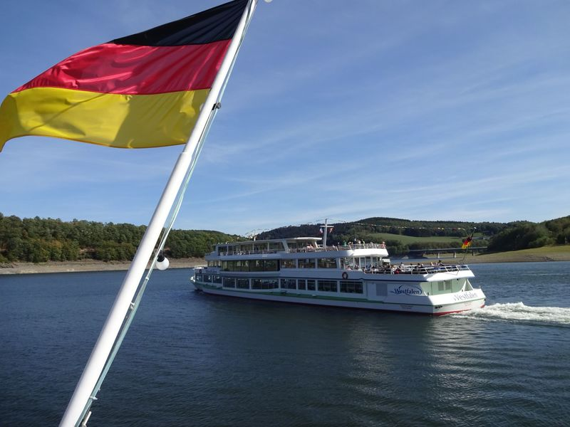 Personenschifffahrt auf dem Biggesee